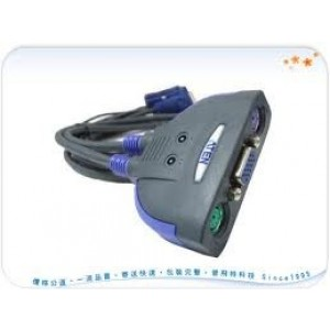 Aten CS-62  2 Port PS2 KVM Switch