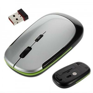 Wireless Optical PS2 Mouse